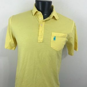 Johnnie-o Polo Shirt Yellow